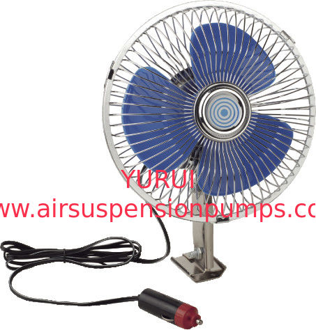 Full Safety Metal Guard Car Cooling Fan For Trucks With Screw Mountings