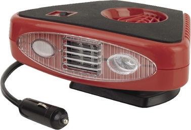 Appareils de chauffage portatifs rouges et noirs 2 de triangle de voiture dans 1 utile pour Vhicle