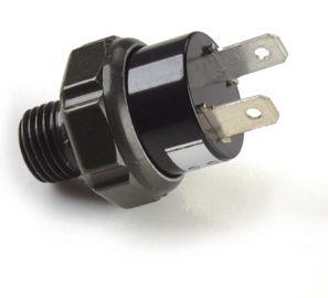 Garnitures pneumatiques noires de compresseur/mano-contact en plastique de compresseur de l'air 12v